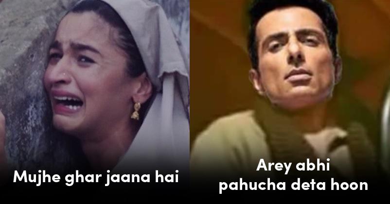 Sonu Sood Alia Bhat Memes
