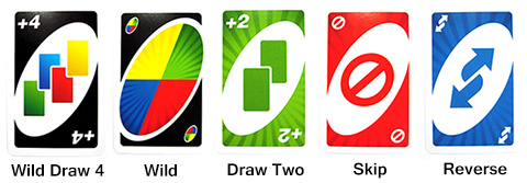 uno card types