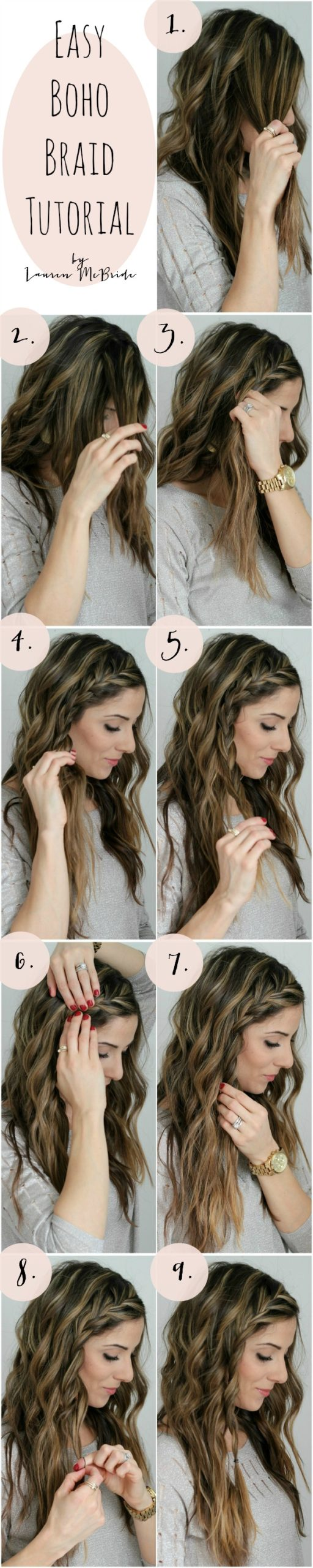 Easy-Boho-Braid-Hairstyles