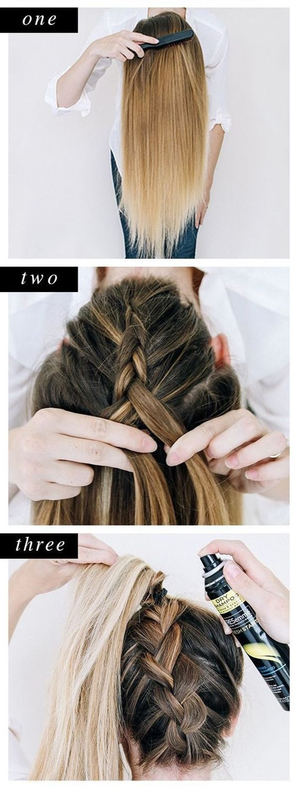 braided hair style for girls