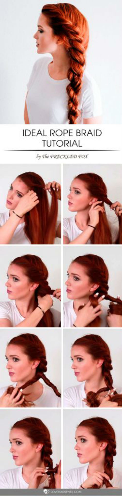 how to style rope braid