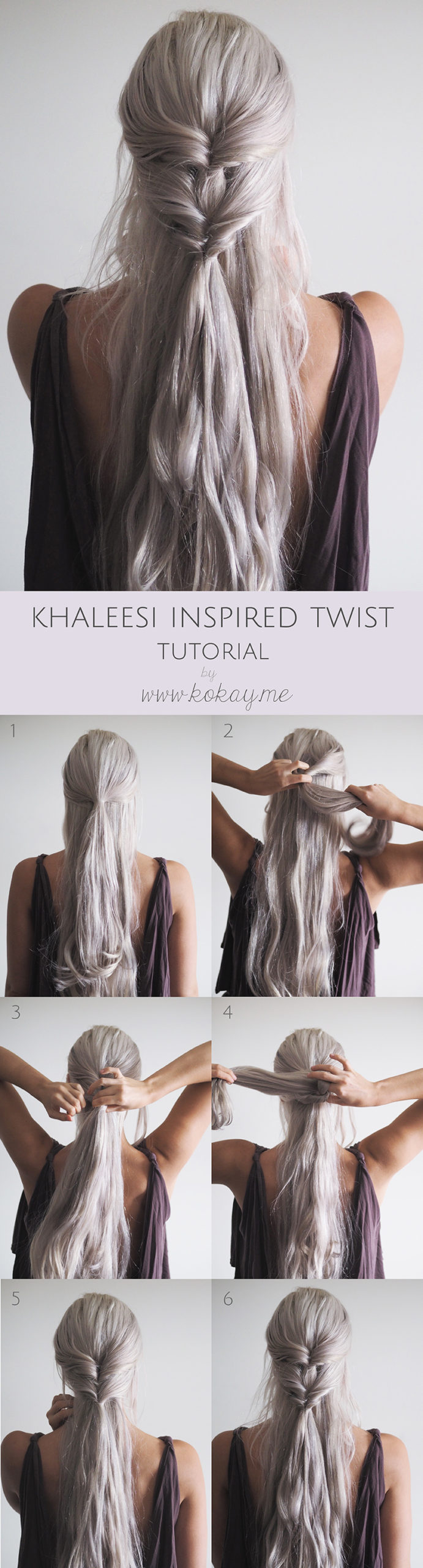 khaleesi twist hairstyle