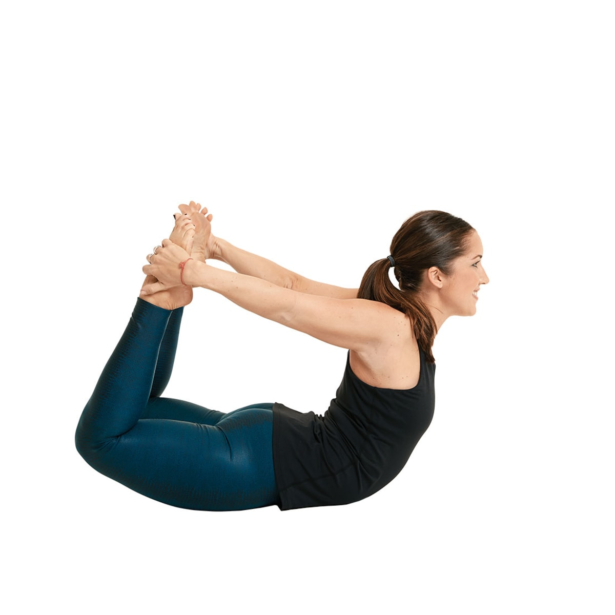 Dhanurasana or Bow Pose Yoga for weight loss