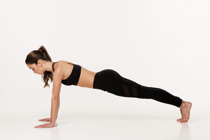 Chaturangadandasana or Plank Pose Yoga for weight Loss