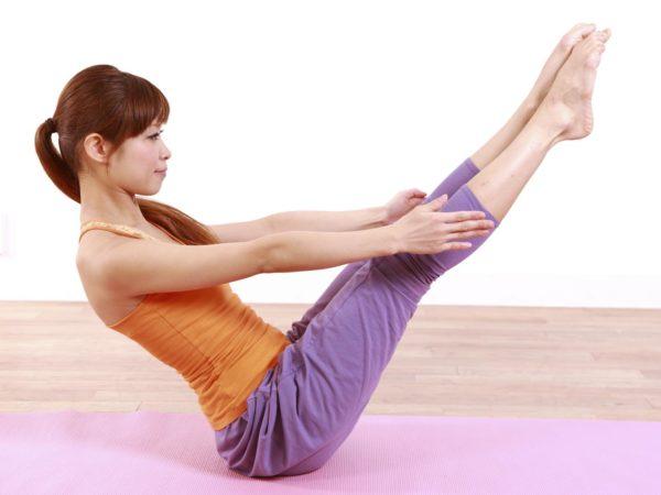 Boat Pose or Nokasana Yoga for weight loss