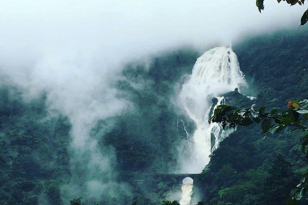 Doodhsagar waterfall trek in goa