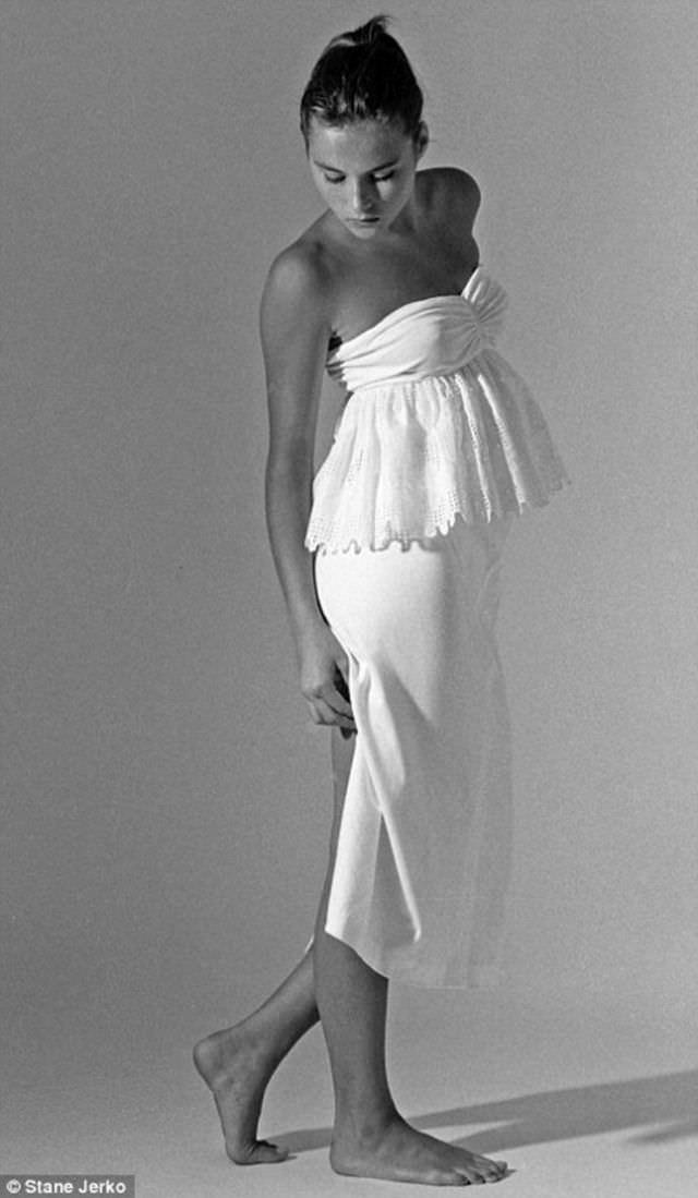 Melania Trump modeling photos