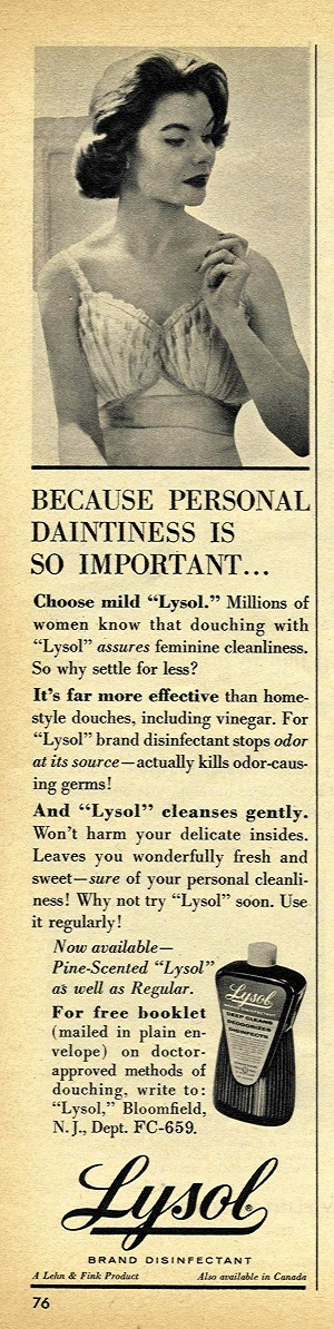 lysol originally used for?