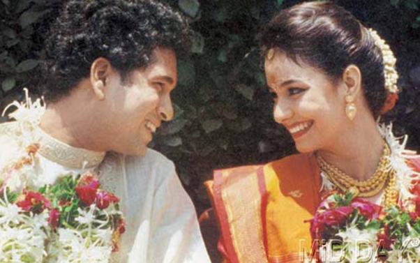 Sachin Tendulkar & Anjali Love Marriage