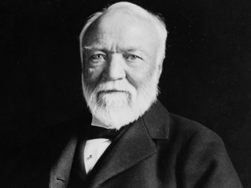 Andrew Carnegie a man who raise Rags to riches