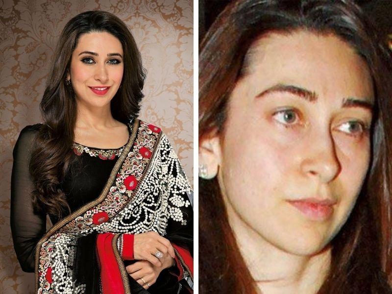 Karishma Kapoor without makeup
