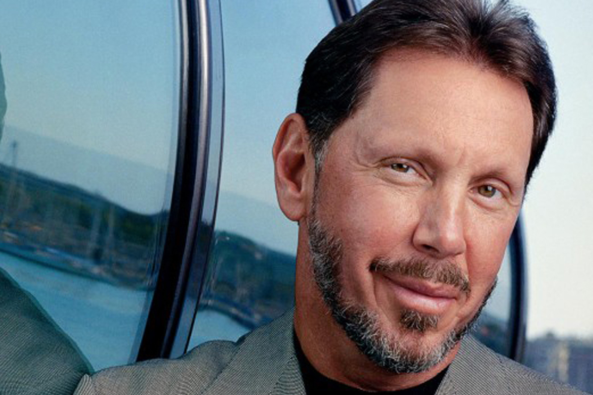 Larry Ellison's Rags to riches story