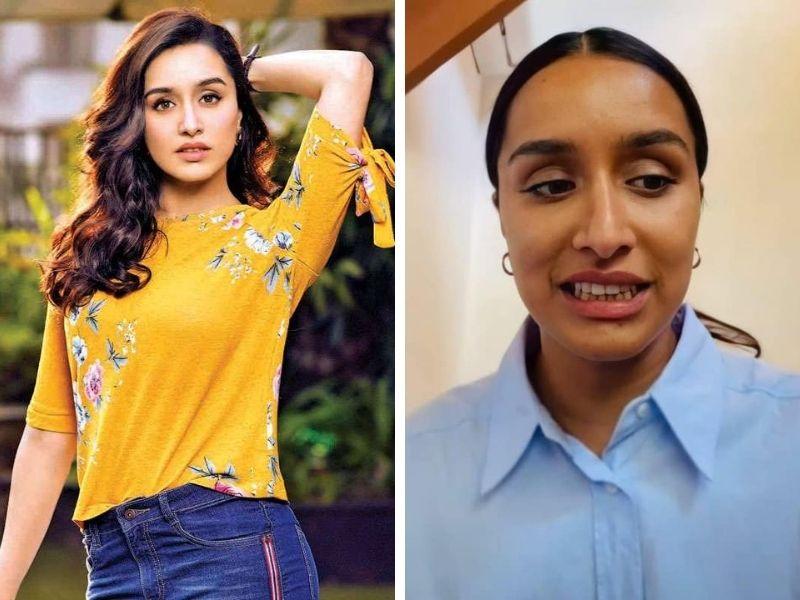 Shraddha Kapoor without makeup