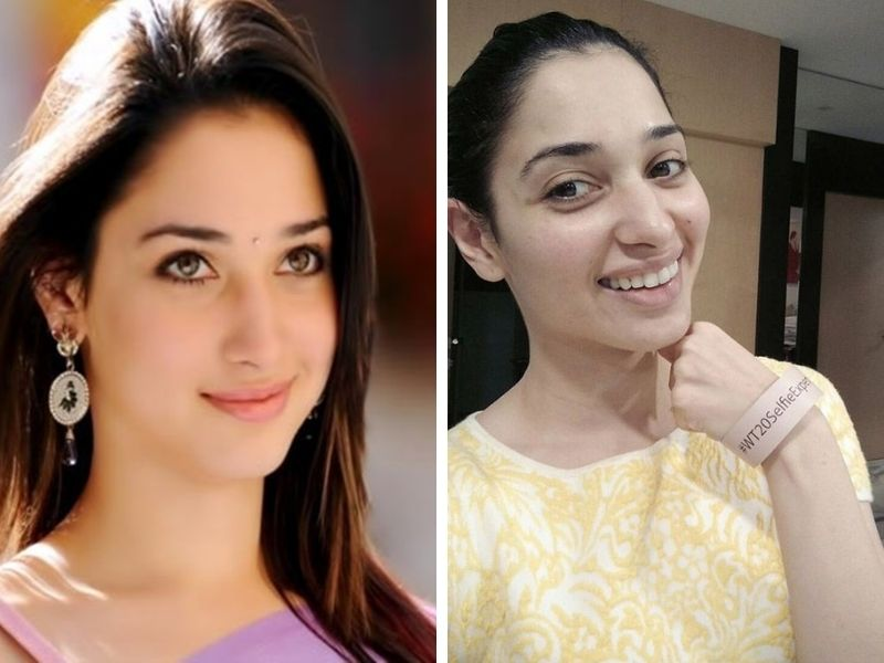 Tamannah Bhatia without makeup