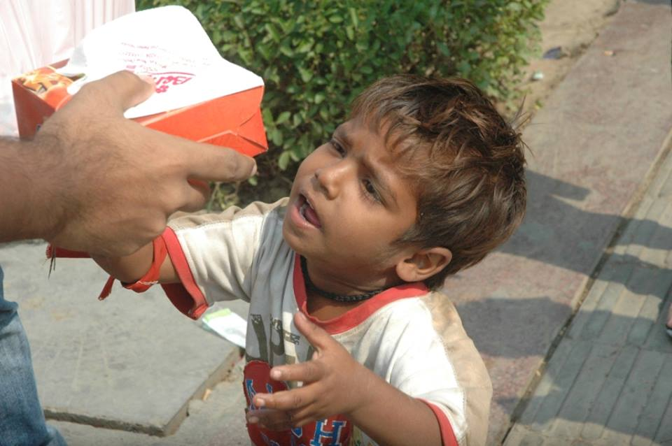 contribute in a society by feeding poor and hungry