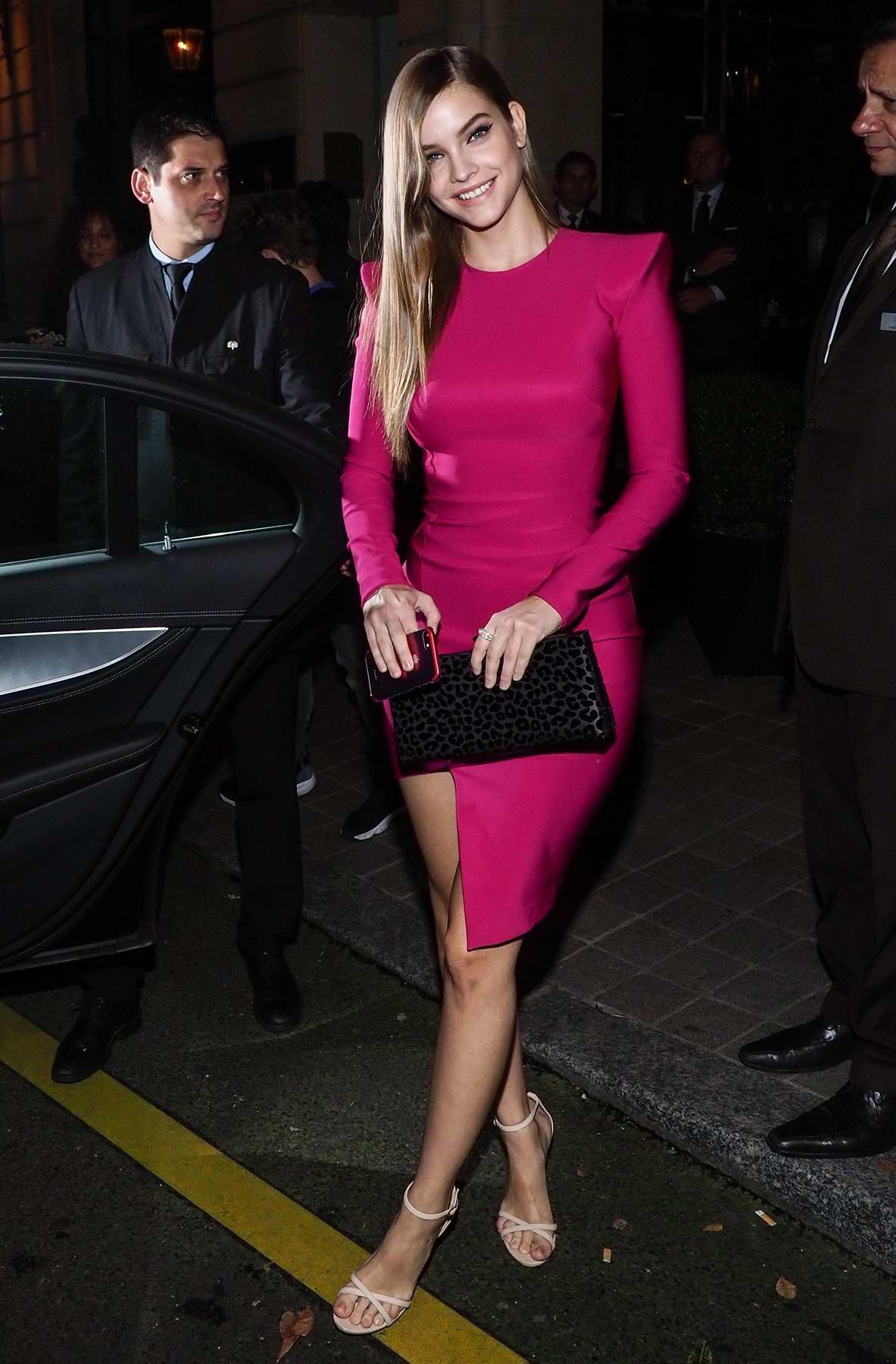 barbara palvin hot dress