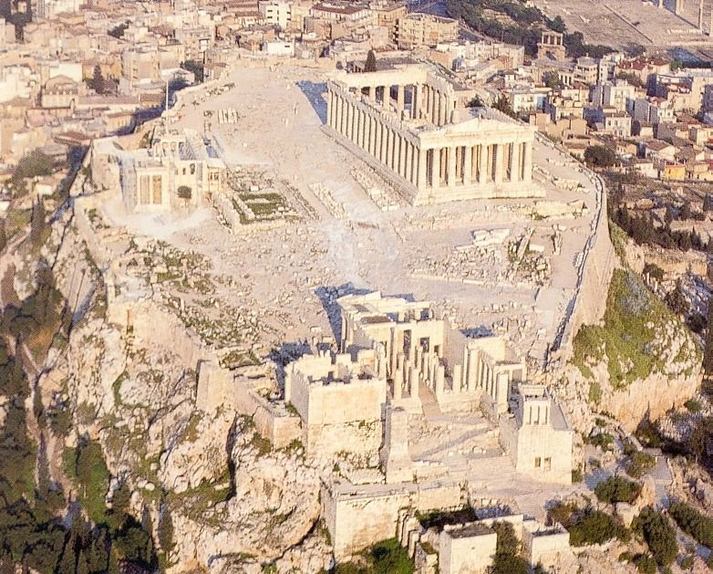 facts about greek mythology - History of Athens