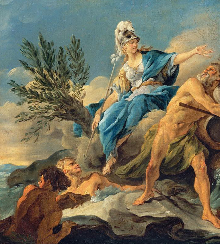 facts about greek mythology - Olive tree