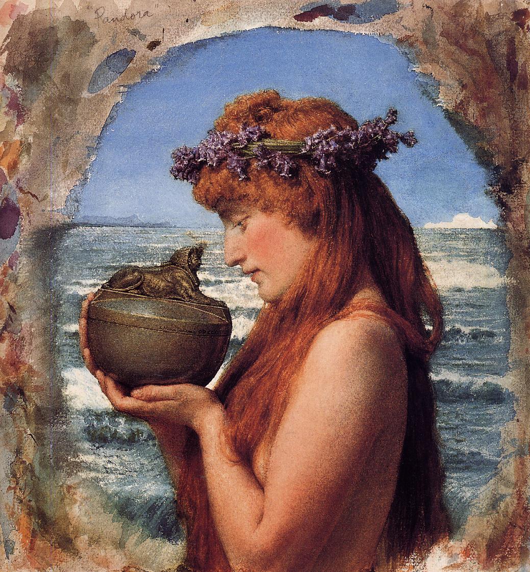 facts about greek mythology - Pandora's Box