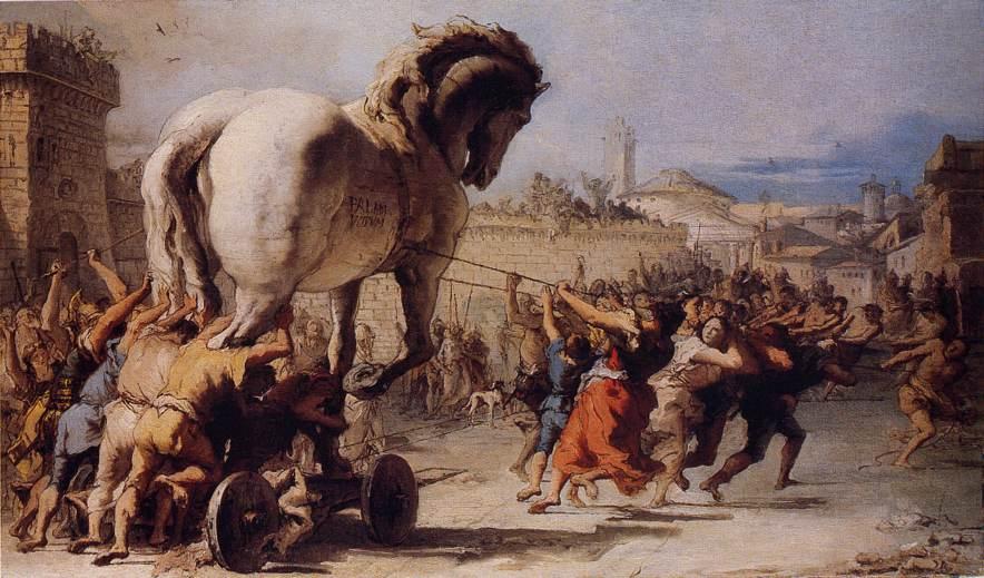facts about greek mythology - Trojan War