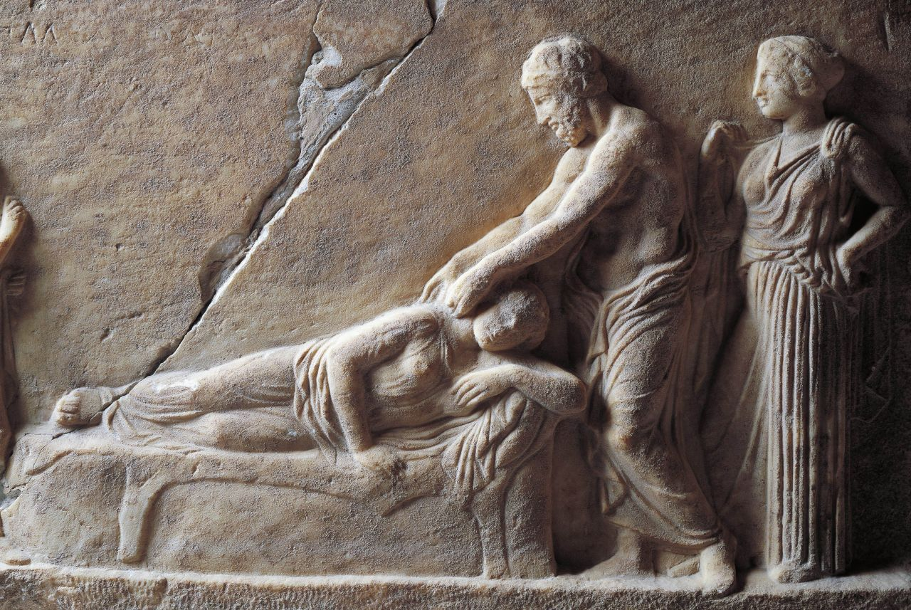 facts about greek mythology - asclepius-god of medicine