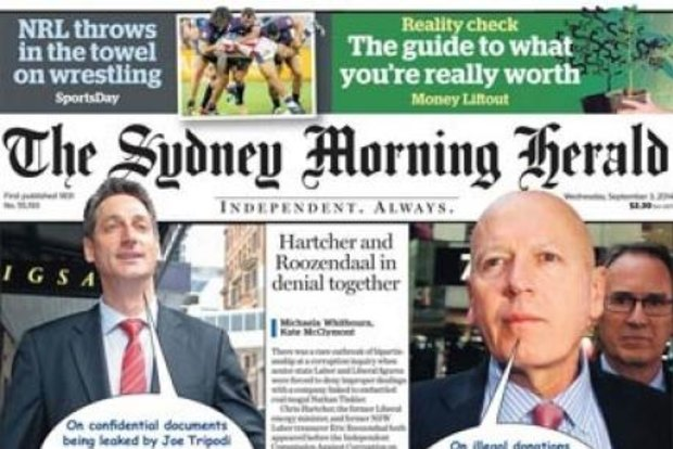 top 10 newspaers in the world - The Sydney Morning Herald