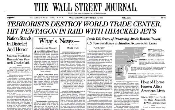 top 10 newspaper in the world- The Wall Street Journal