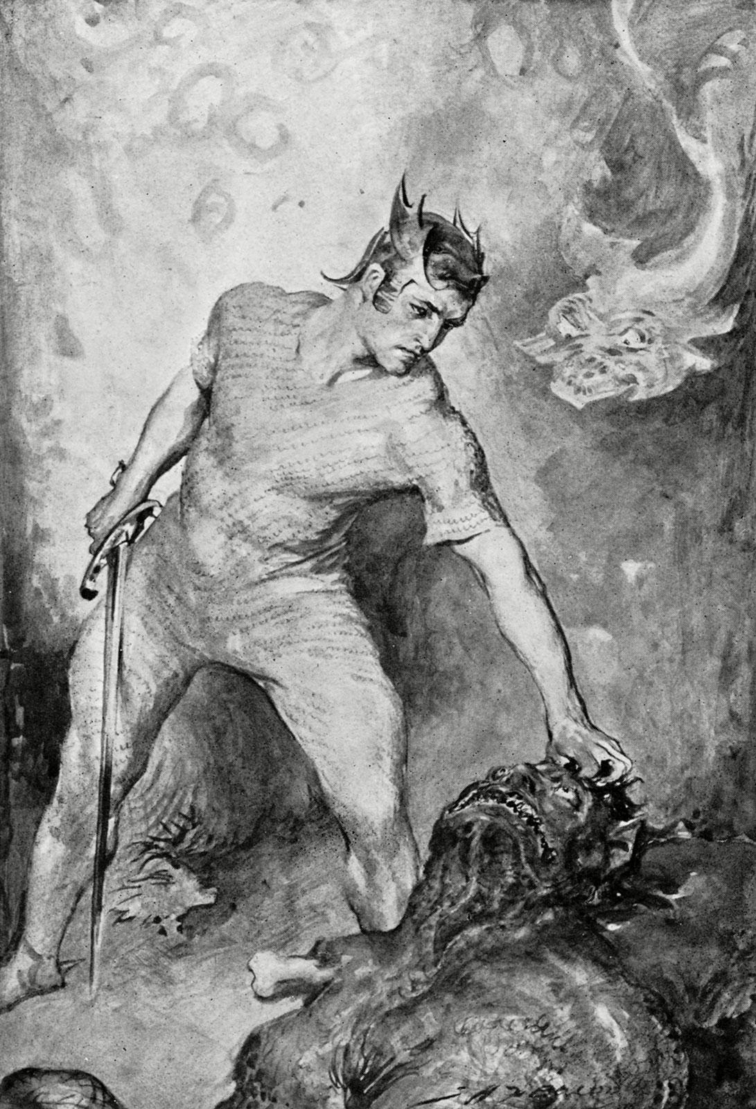 Legendary Heroes in History - Beowulf
