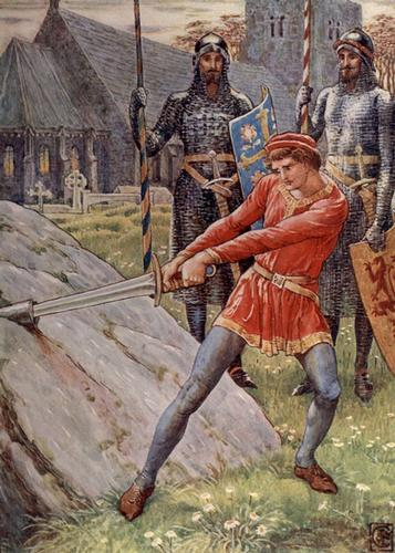 Legendary heroes in History - King Arthur