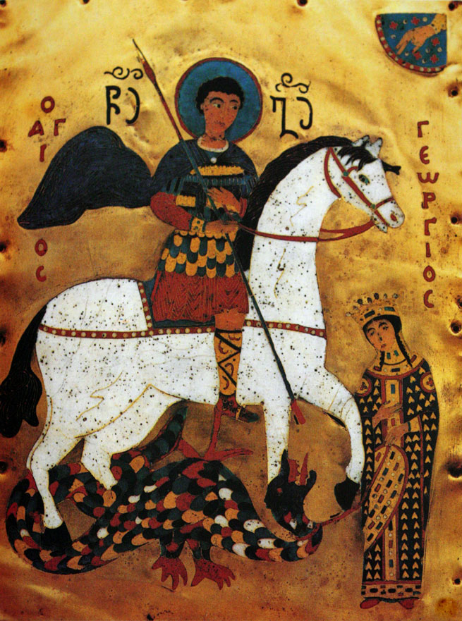 Legendary heroes in history - StGeorge