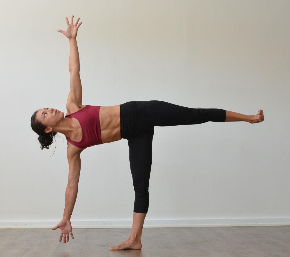 Yofa for flexibility - Ardha_Chandrasana