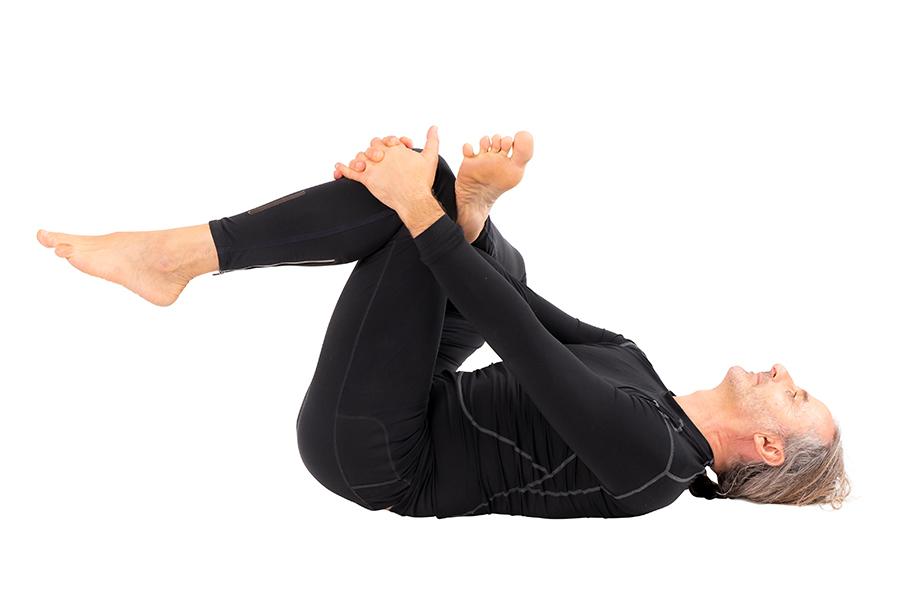 Yoga for flexibility-Sucirandhrasana pose
