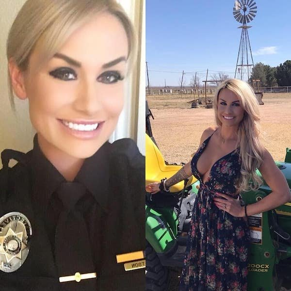 hottest women in and out of uniform