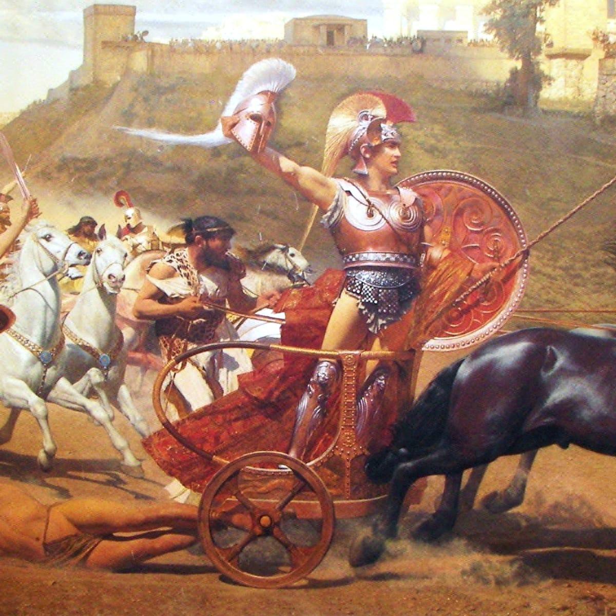 legendary heroes in history - achilles-hero