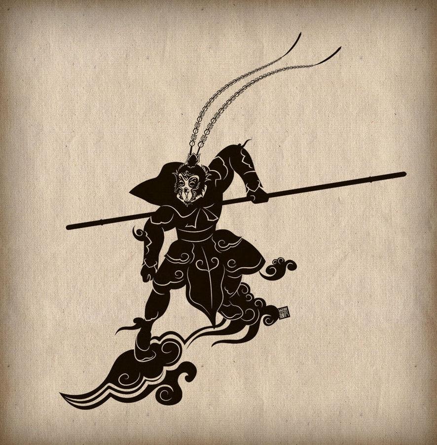 legendary mythlogical heroes - sun wukong
