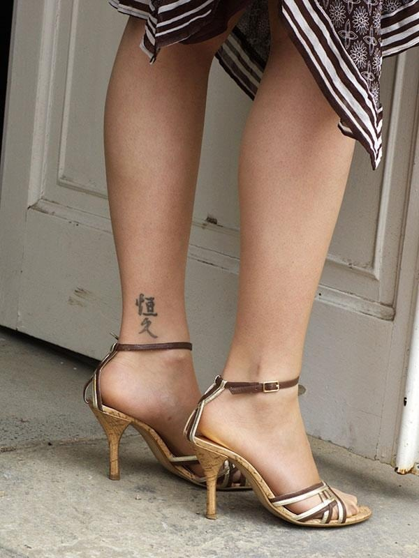 Ankle-tattoo-designs-for women