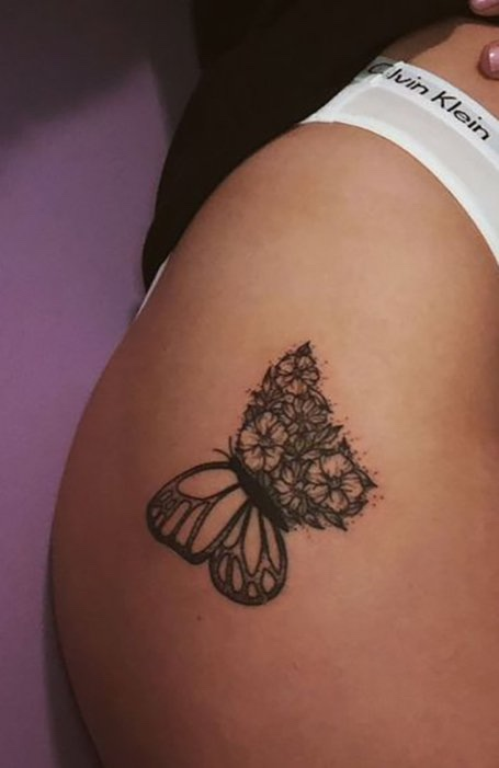 beautiful Thigh Tattoos for women
