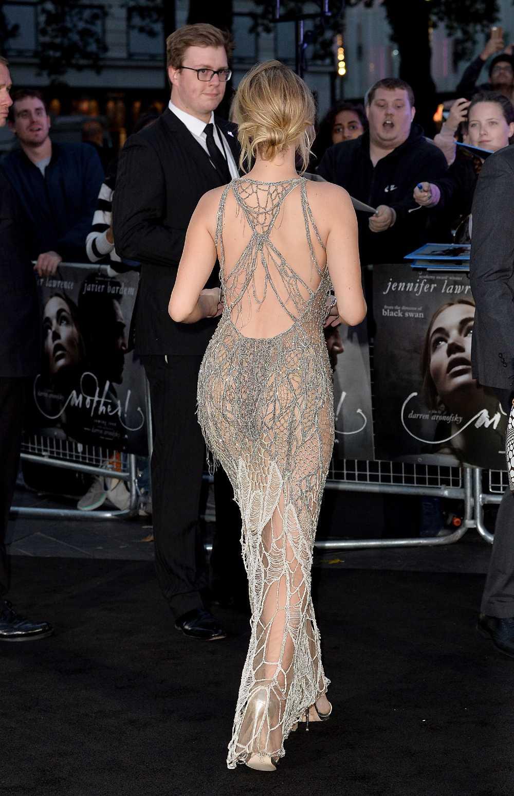 Jennifer Lawrence hot back