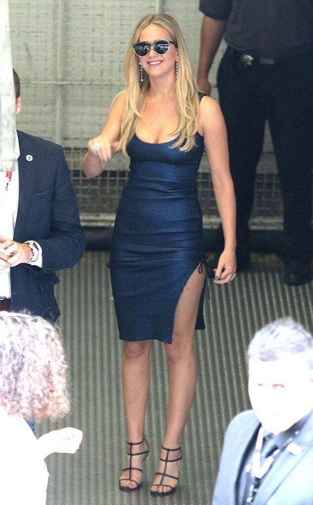 Jennifer Lawrence hot outfit