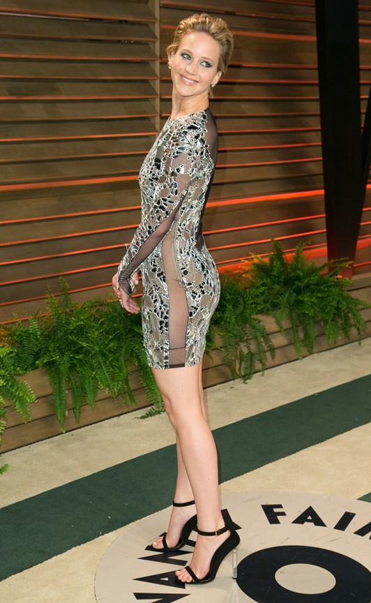 jennifer lawrence hot dress