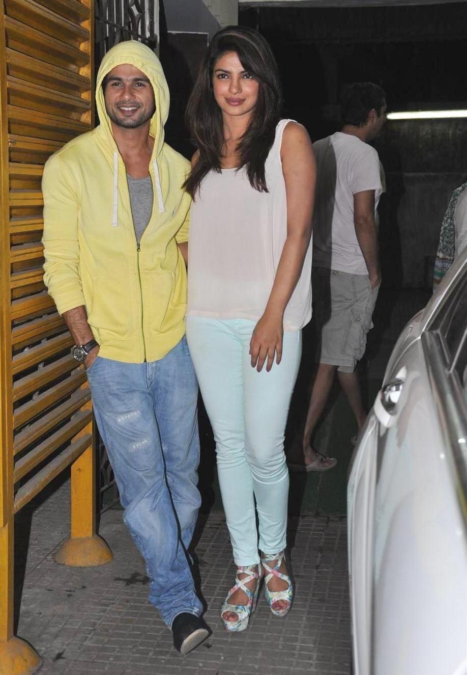 priyanka chopra affair with Shahid Kapoor
