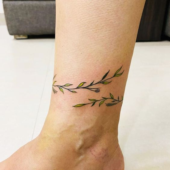 small ankle tattoos for female