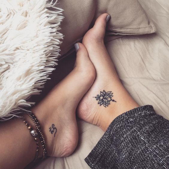 small ankle tattoos for girls